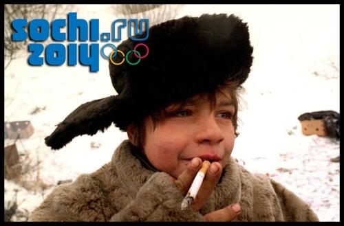 Беспризорные дети новый символ олимпиады в Сочи 2014