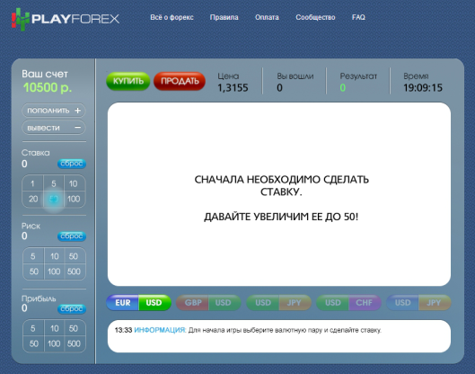 PlayForex.ru
